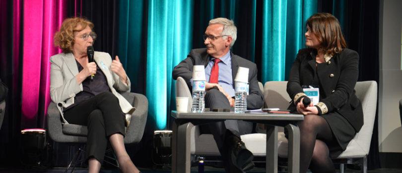 Photo avec Muriel Pénicaud, Ministre du travail.